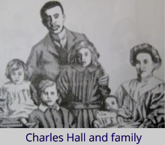 Charles Hall and family